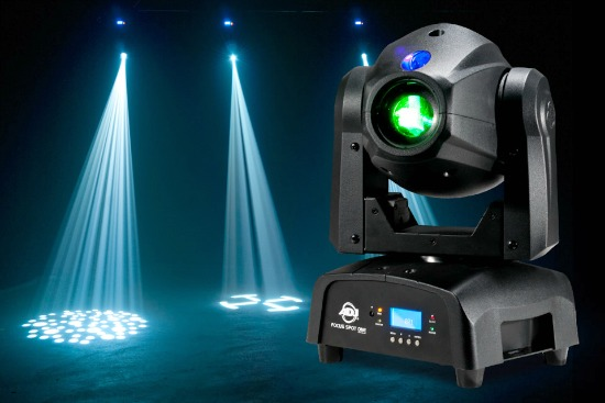 American Dj Focus Spot One 35w Led Moving Head Light With Motorized Gobo Indexing