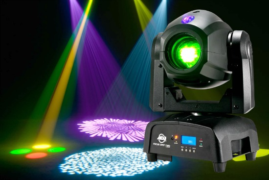 American Dj Focus Spot Two 75w Led Moving Head Light With Motorized Gobo Indexing
