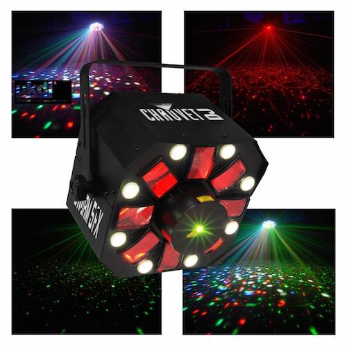 chauvet dj swarm 5 fx 3 in 1 led effect light. Black Bedroom Furniture Sets. Home Design Ideas