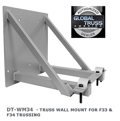 dura truss by global dt wm34 truss wall mount for f33 f34 truss. Black Bedroom Furniture Sets. Home Design Ideas